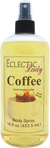 Coffee Body Spray Double Strength , 16 ounces