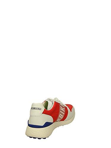 Bikkembergs - Zapatillas para hombre rojo rojo Rojo