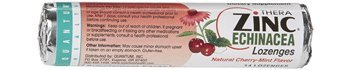 Quantum Health - Thera Zinc Echinacea Lozenges Cherry-Mint - 14 Count (pack of 3)