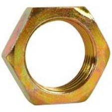 Per Package Of 10 Imperial 96235 Steel Fitting Bulkhead Nut 1//4