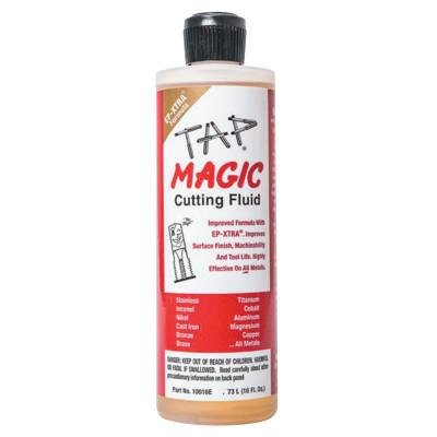 TAP Magic 10016E EP-XTRAOZ ONE Friendly Cutting FLUIDS - 16 OZ. SPOUT TOP (Lubricant Metal Cutting)