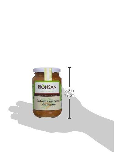 Bionsan Cocido Ecológico de Garbanzos con Seitán - 6 Botes de 220 ...