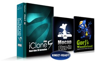 iClone5 Kinect Mocap Suite - Win