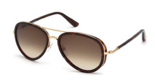 Tom Ford TF341 28K Havana Gold / Brown Gradient - Gold Rose Tom Ford