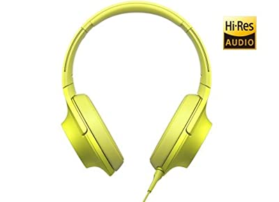 Sony h.ear MDR-100AAP Headphones - Lime Yellow