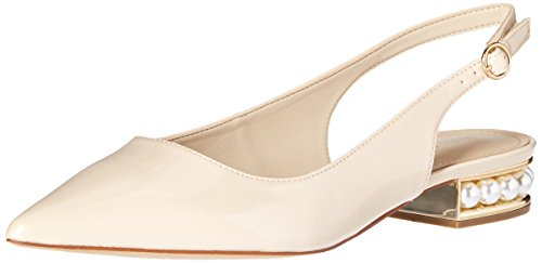 Marc Fisher Women's Rise Ballet Flat, Light Natural, 7.5 Medium US from Marc Fisher