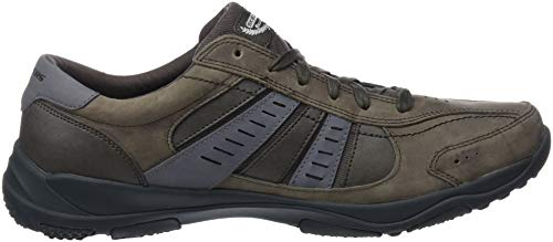 Larson Baskets Charcoal Nerick Skechers Homme wpxq0Sd1P