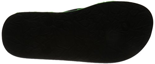 Volcom Boys Recliner Rubber Sndl Black Poison Green