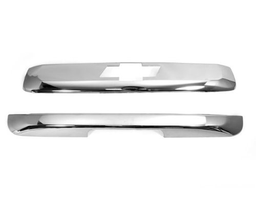 Chrome Tailgate Hatch Cover Trim Trunk Bezel for CHEVY TAHOE SUBURBAN 2007 2008 2009 2010 2011 ()