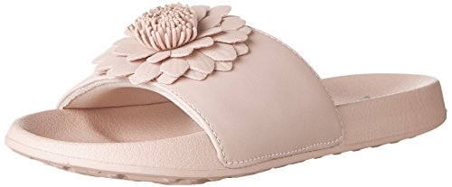 Skechers 2nd Take-Metal Petal, Sandales Bout Ouvert Femme Rose (Pink)
