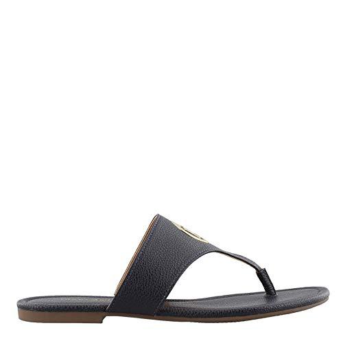 Tommy Hilfiger Women's Sinder Navy 8 M US (Navy Blue Thong Sandals)