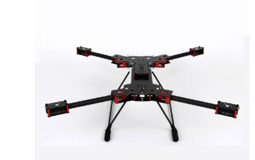 Amazon.com: H4 680mm Alien Carbon Fiber Folding Quadcopter Frame Kit ...