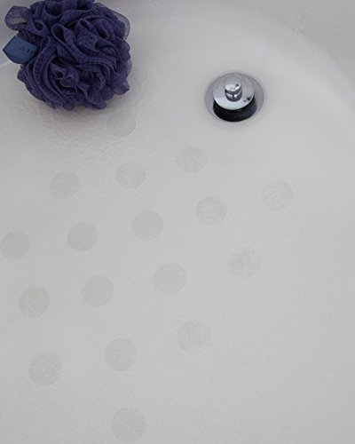 (Anti-Slip Discs - Non Slip Stickers for Tubs and Showers (Clear))
