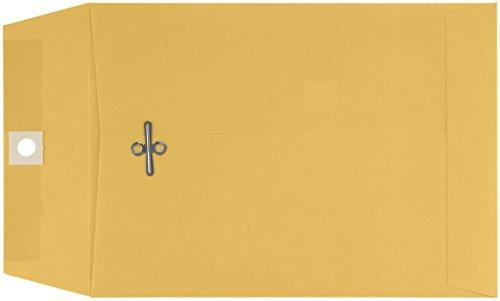 5 1/2'' x 7 1/2'' Open End Envelopes - 32lb. Brown Kraft (500 Qty.) by Envelopes.com