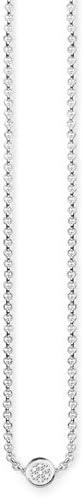 Thomas Sabo Collar con colgante Mujer plata - D_KE0003-725-14-L45v