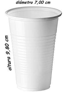 Sumicel Vaso plástico de Polipropileno en Color Blanco, 220 ml, 1000 Unidades