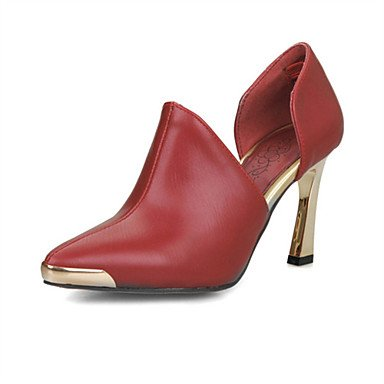mujeres sandalias Primavera Verano Otoño los zapatos del club del brillo personalizada Materiales oficina y carrera boda de tacón de aguja casual Plata Oro Black