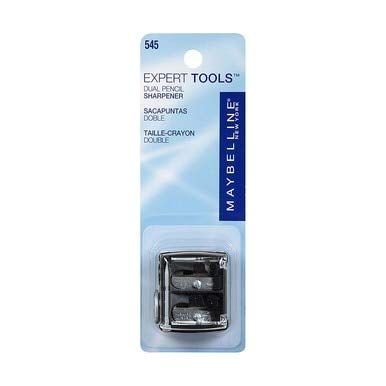 Maybelline New York Expert Tools, Dual Sharpener 1 ea (Pack of 8) by Maybelline New York