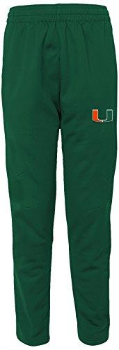 Outerstuff NCAA Miami Hurricanes Adult Men First String Field Pant, Medium, Dark Green