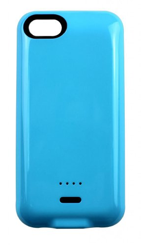 G4GADGET® 2200mah Power External Battery Blue Case for Iphone 5/5S/5C