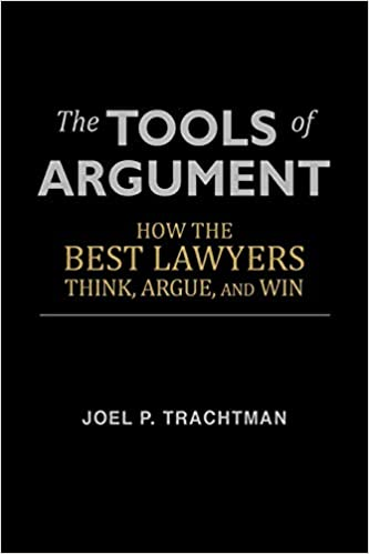 tools of argument- must read books for law students