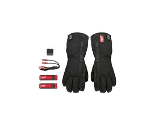 Milwaukee Electric Tools 561-21L Gloves Red Lithium USB Heated - Large