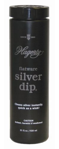 Hagerty Flatware Silver Dip Unscented Bottle 16.9 Oz