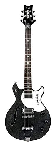 Daisy Rock 6 String Semi-Hollow-Body Electric Guitar DR6368-A-U