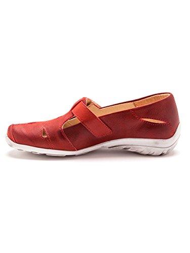 Pediconfort - Sandalias de Vestir Mujer Rojo