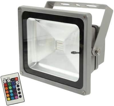 Iluminación Reflector LED RGB de alta potencia de 30W, proyector ...