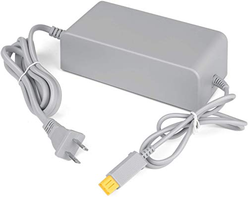 Wii U Console Charger,AC Adapter Power Supply Replacement for Nintendo WiiU Console (Not Compatible with Nintendo Wii)