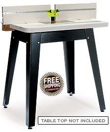 Mlcs heavy duty tool stand w router tables for How to make a router table stand