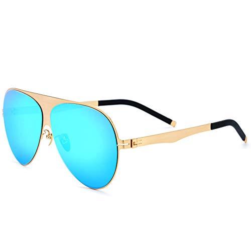Laufen Ceramic Tile - DelongKe Unisex Polarized Aluminum Sunglasses,Retro Metal Frame 100% UV Protection Zum Fahren, Angeln, Radfahren Und Laufen,Blue