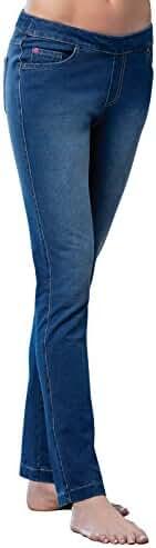 PajamaJeans - Skinny Stretch Knit Denim Jeans for Women