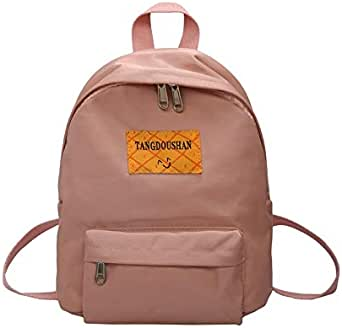 Women's Backpack Large Capacity Casual Zipper Backpack Interior Compartment Bags Structure