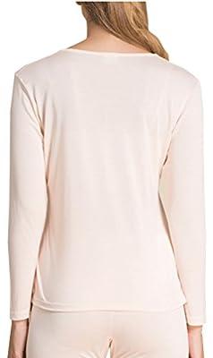 METWAY Women's Silk Long Johns Snug Fit Silk Thermal Underwear Sets