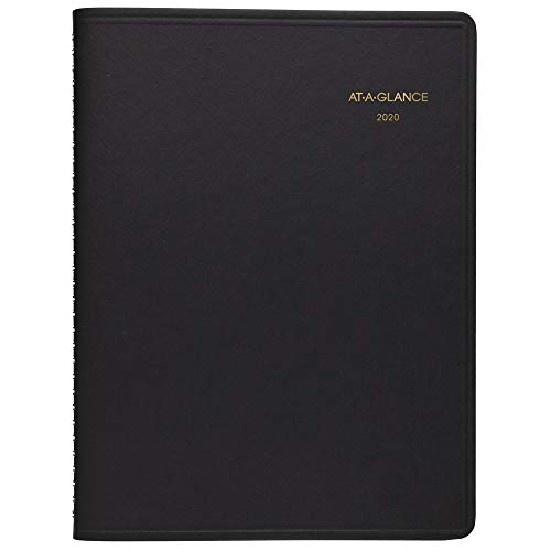 - AT-A-GLANCE 2020 Weekly Planner / Appointment Book, 8-1/4