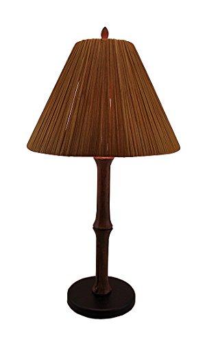 resin bamboo table lamp - 9