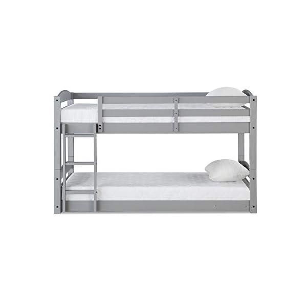 Max & Finn Twin Bunk Bed, Gray 2