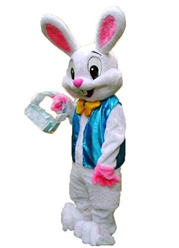 (Easter Rabbit Mascot Bunny Mascot Costume Easter Bunny Costume Adult Costume (M (170cm-180cm) 5'7'' to 5'11''))