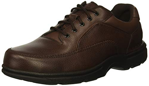 Rockport Men's Eureka Walking Shoe, Brown, 9.5 2E US ()