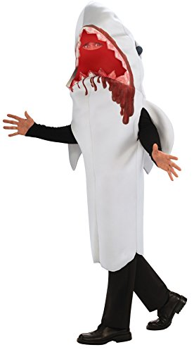 Rubie's Costume Shark Attack Adult Humor Costume, Gray, Standard (Shark Hat Costume)