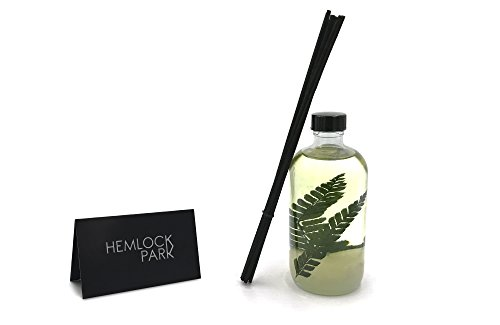 Hemlock Park Reed Diffuser | Natural Essential Oil Aromatherapy (Tea Tree) by Hemlock Park (Image #4)