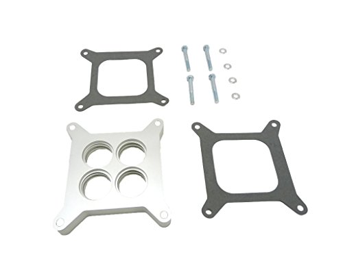 (OBX Racing Performance Carburetor Spacer Holley 4150-4160 Series Edelbrock Sq. Flange OE Sq)