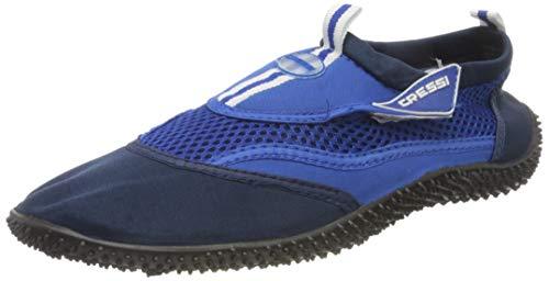Cressi Reef Aqua Shoes, Zapatillas Chanclas, Hombre, Azul (Blau), 44 EU