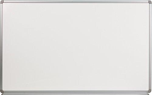 Whiteboard Steel Magnetic Porcelain (Flash Furniture 5' W x 3' H Porcelain Magnetic Marker Board)