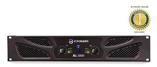 Crown XLi3500 Two-channel - 1350W Power Amplifier -  XLI 3500