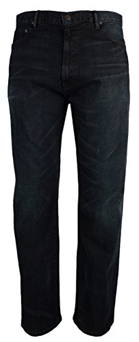 Ralph Lauren Polo Men's Big & Tall Hampton Straight Fit Stretch Jeans-WS-48Bx30L (Ralph Lauren Leather Jeans)