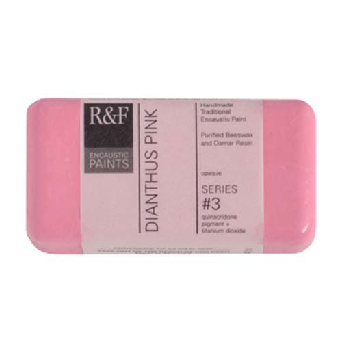 R&F Encaustic 40ml Paint, Dianthus Pink