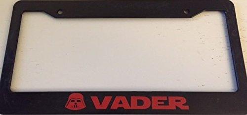 darth vader license plate frame - 2